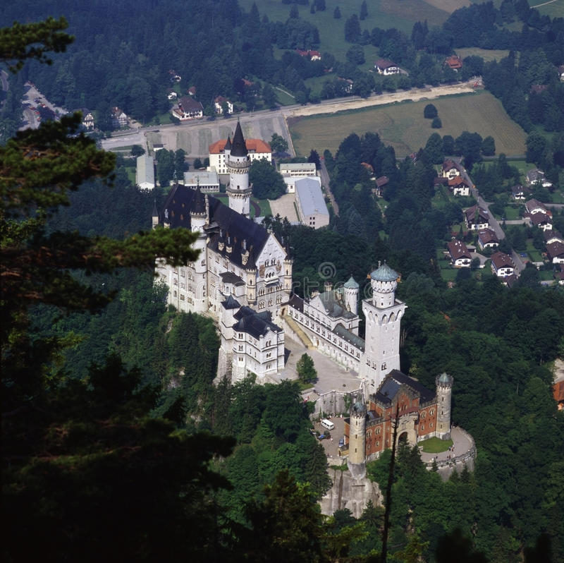 German Castle royalty free stock photo
