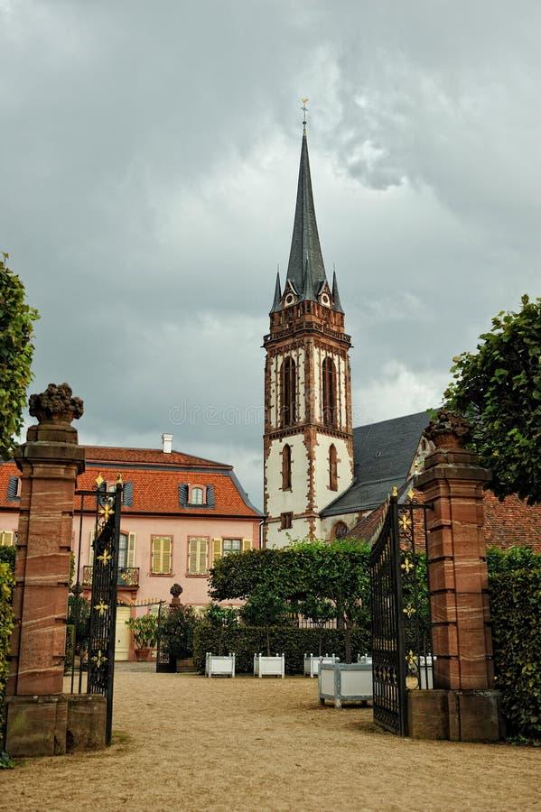 Download German Catholic Church Garden Stock Photo - Image of purity, historical: 21153516