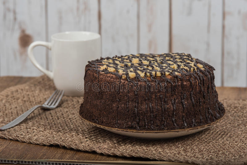 Download German Chocolate Cake Stock Photo - Image: 85182205