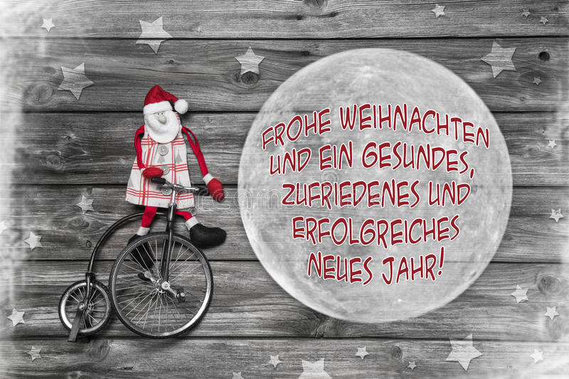 German christmas greeting card with text merry xmas and a succes german christmas greeting card in red white and grey color with text merry xmas and a successful happy new year m4hsunfo