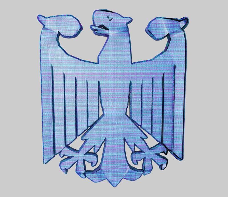 German Eagle stock illustration