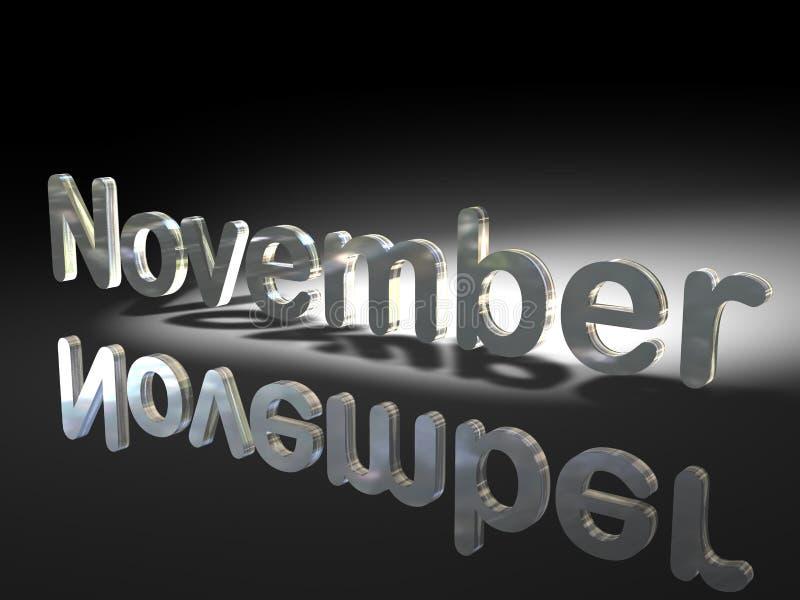 Download German And English November Stock Illustration - Illustration of opposite, month: 5838279