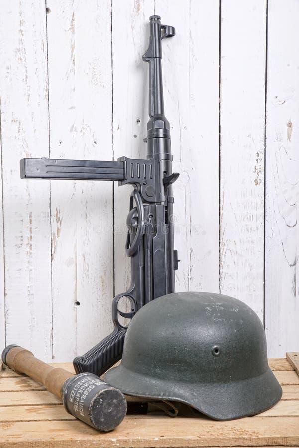 German equipment of World War II stock images