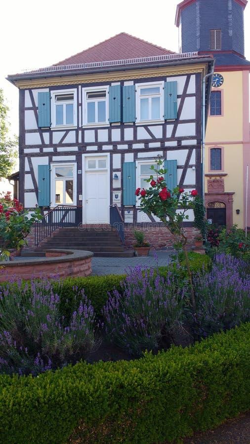 German fachwerk architecture royalty free stock images