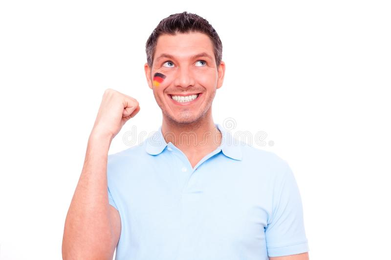 Download German fan stock image. Image of contest, germany, optimistic - 13865601