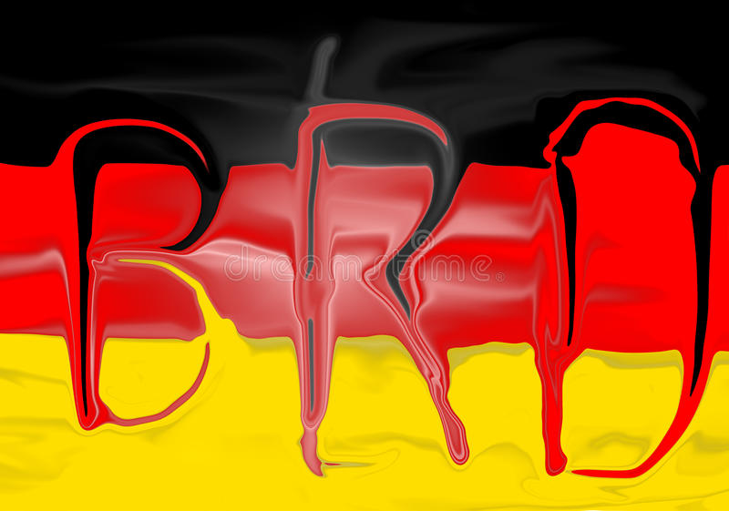 Download German Flag stock illustration. Illustration of illustrations - 12863454