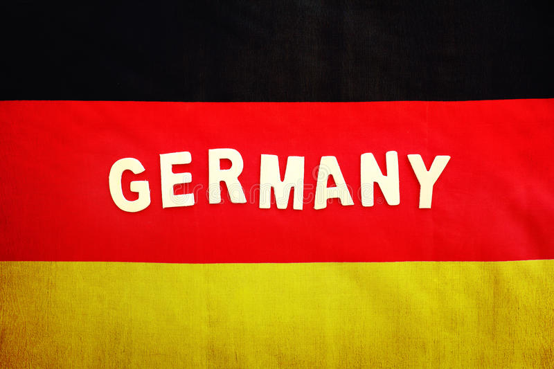 German Flag Abstract Background With Text Space Patriotic Wallpaper For Football Fans