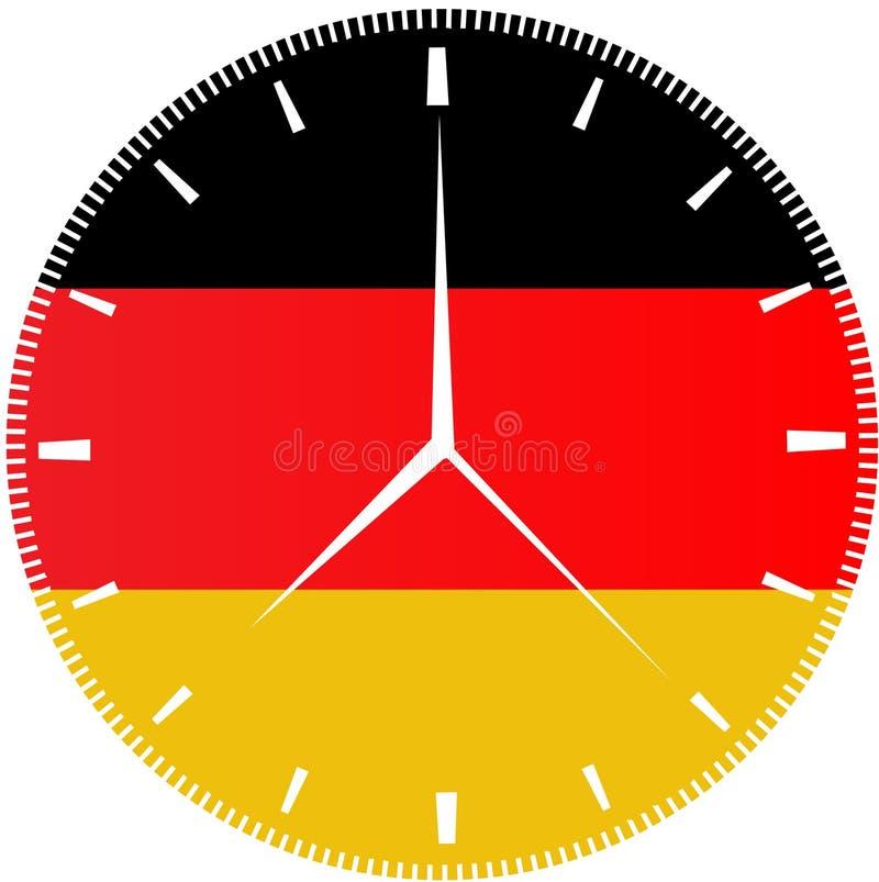 German Flag Clock Stock Photos