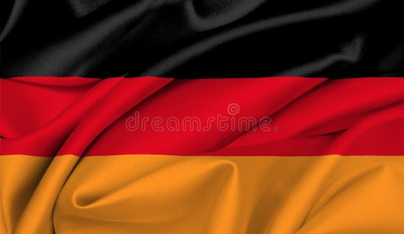 Download German Flag - Germany stock illustration. Illustration of united - 3424017