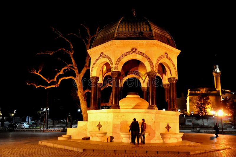 Download German Fountain editorial photography. Image of istanbul - 39513062