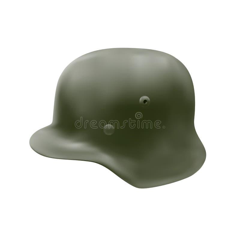 The German helmet in stock vector  Illustration of