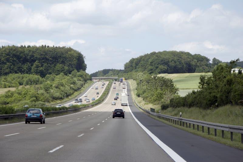 german highway obraz stock