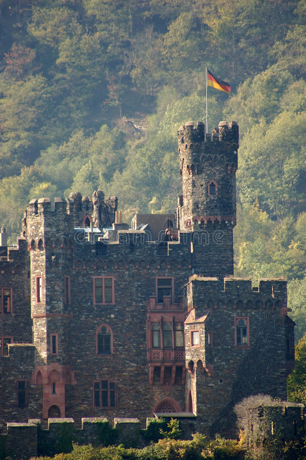 German historyczne zamek fotografia stock