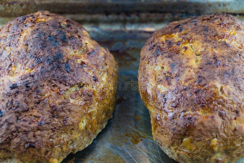 German homemade meatloaf royalty free stock image