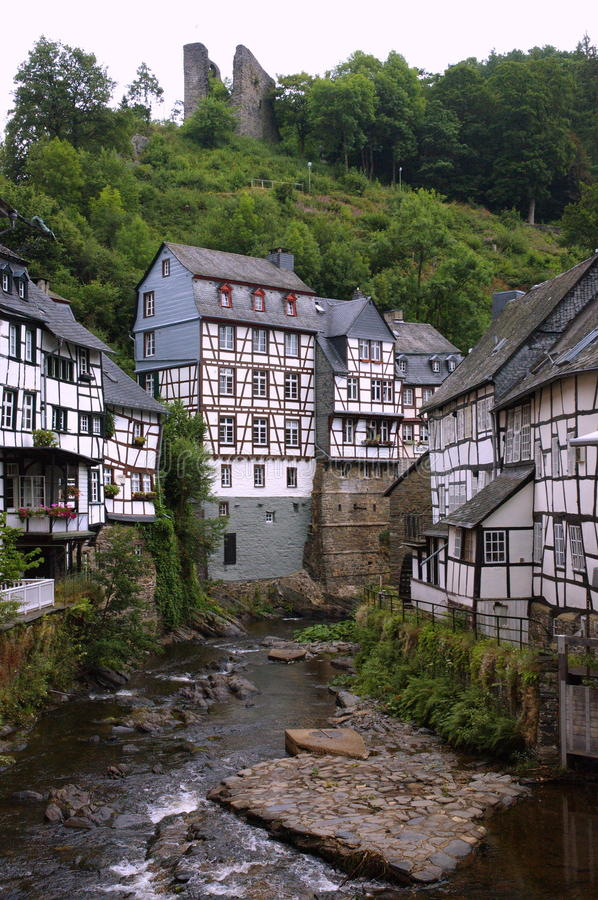 Download German houses stock image. Image of aged, lane, city - 16870119
