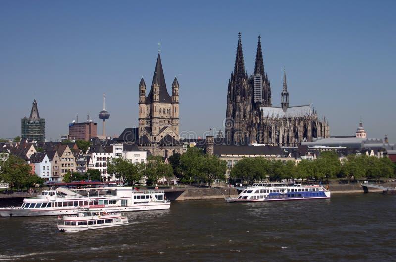 German koeln cologne obrazy royalty free