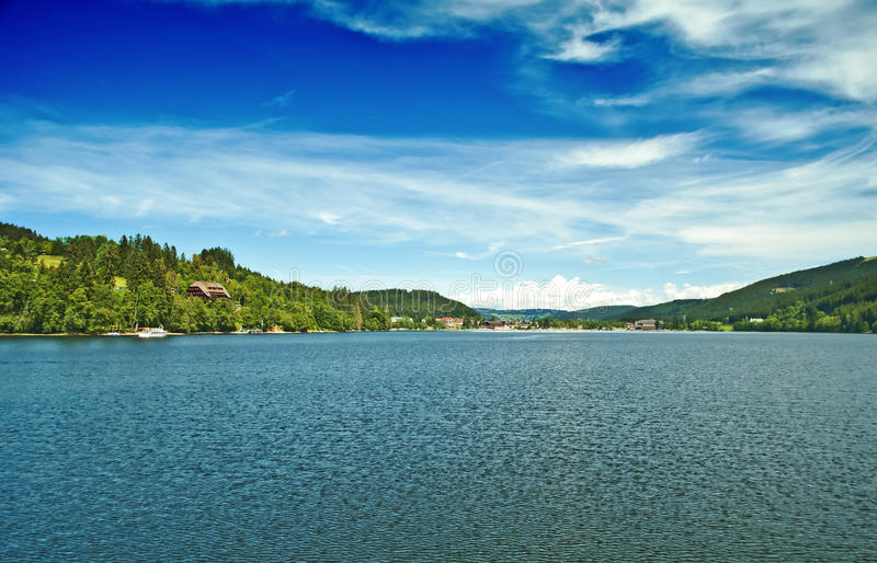 German lake Titisee royalty free stock photography