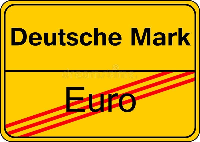 German Mark Royalty Free Stock Photography