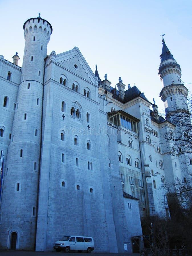 German Neuschwanstein zamek fotografia royalty free