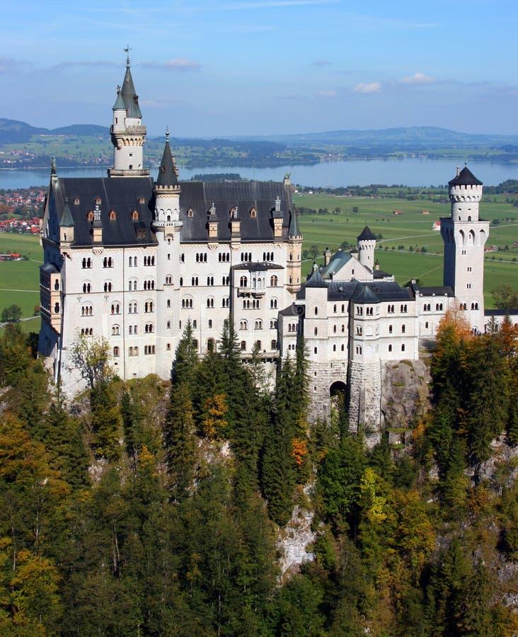 German Neuschwanstein zamek obraz stock