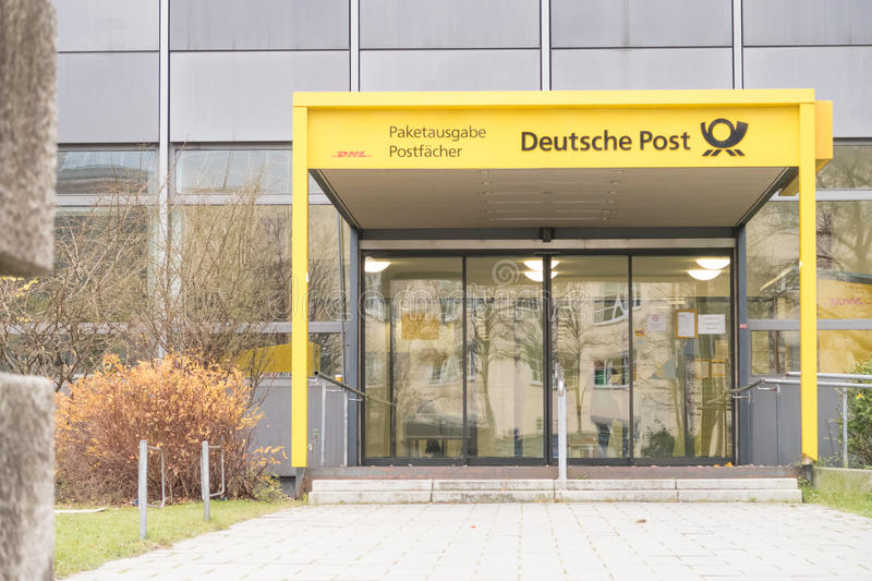 German post office royalty free stock photography