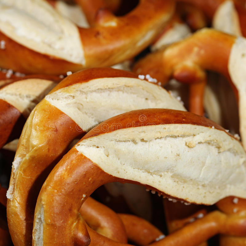 German Pretzel royalty free stock photo