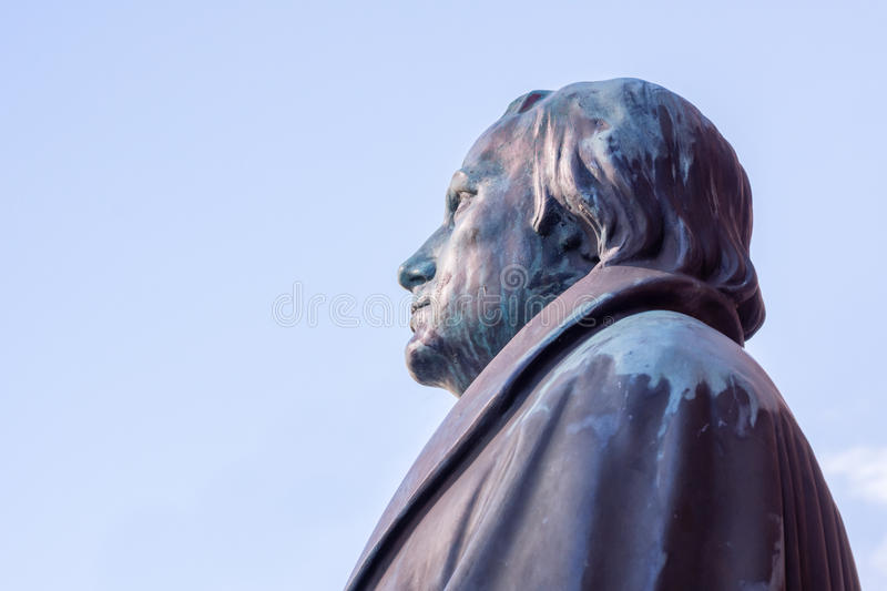 German reformer Martin Luther stock photos
