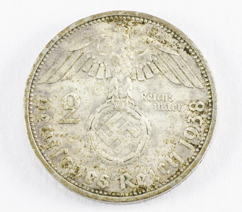 German reich coin stock image