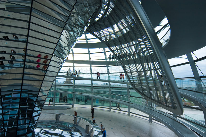 Download German Reichstag Dome Stock Photography - Image: 7861492