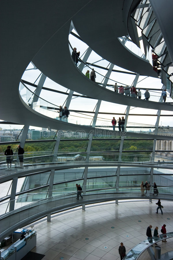 Download German Reichstag Dome stock image. Image of parliament - 7861617