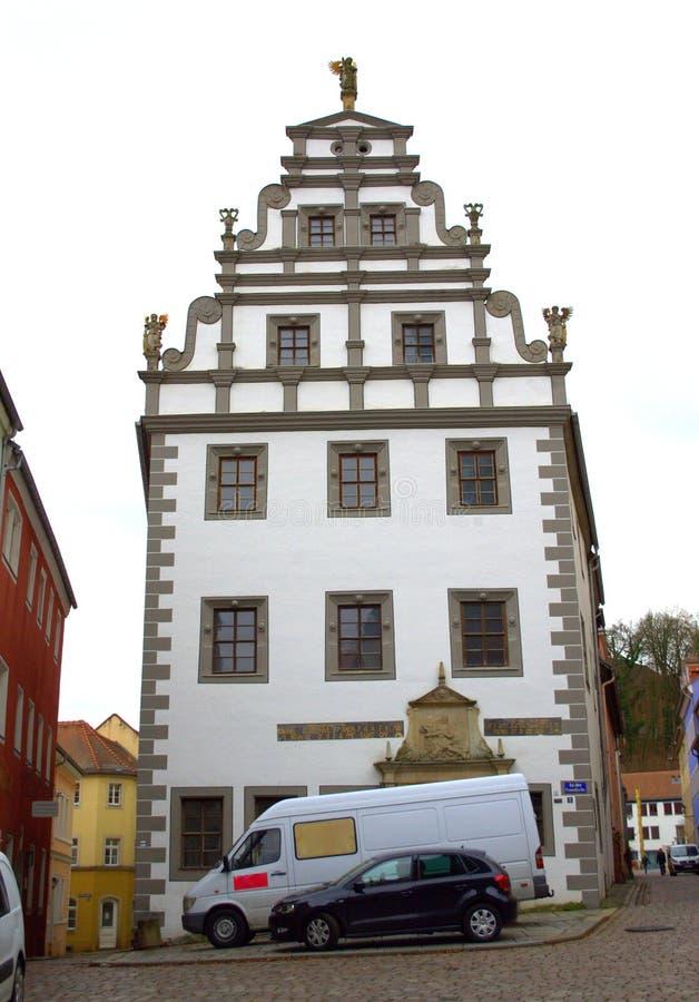 Download German Renaissance Pretty House Stock Image