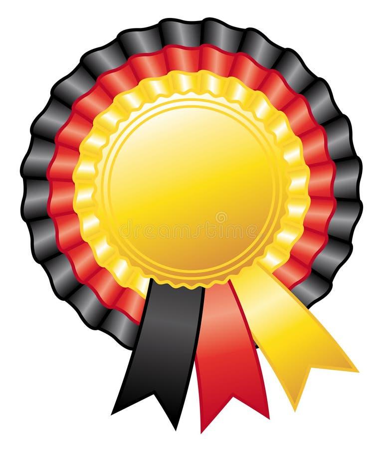Download German Rosette Ribbon. Stock Image - Image: 23380671