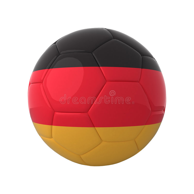 Download German soccer. stock illustration. Image of game, isolated - 5248206