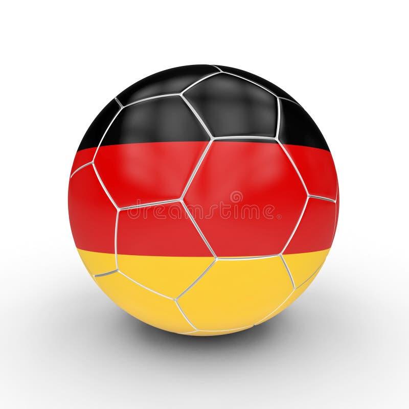 German soccer ball vector illustration
