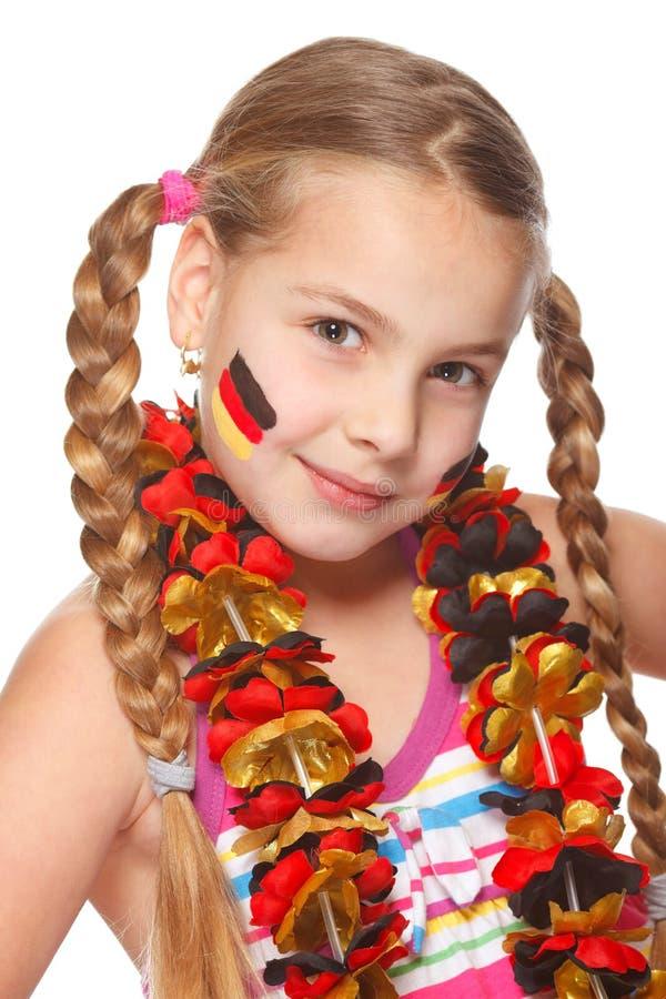 German soccer fan portrait stock photos
