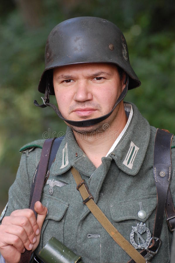 German soldier of WW2