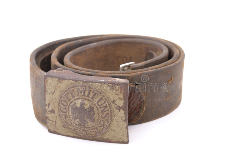 Download German Standard Soldier Belt Stock Image - Image: 4690981