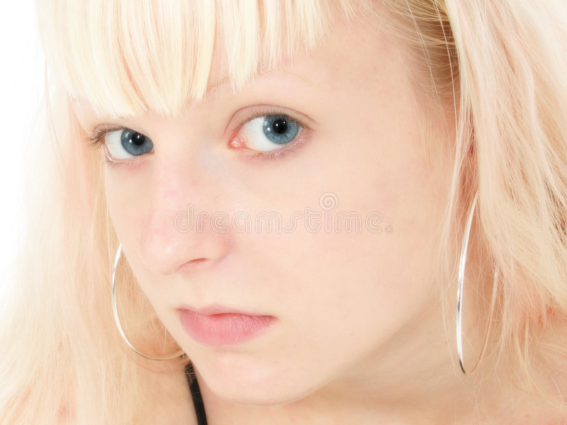 German Teen Girl royalty free stock photo