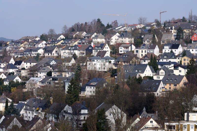 Download German town stock photo. Image of siegen, european, residential - 13536412
