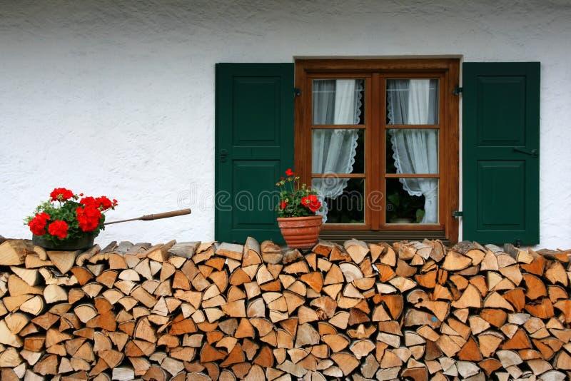 Download German town stock image. Image of village, flower, firewood - 9685023