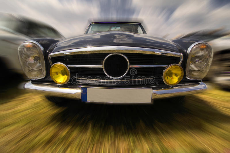 German vintage car royalty free stock photography