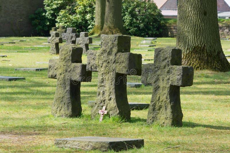 German War Cemetery Of Langemark Stock Photography