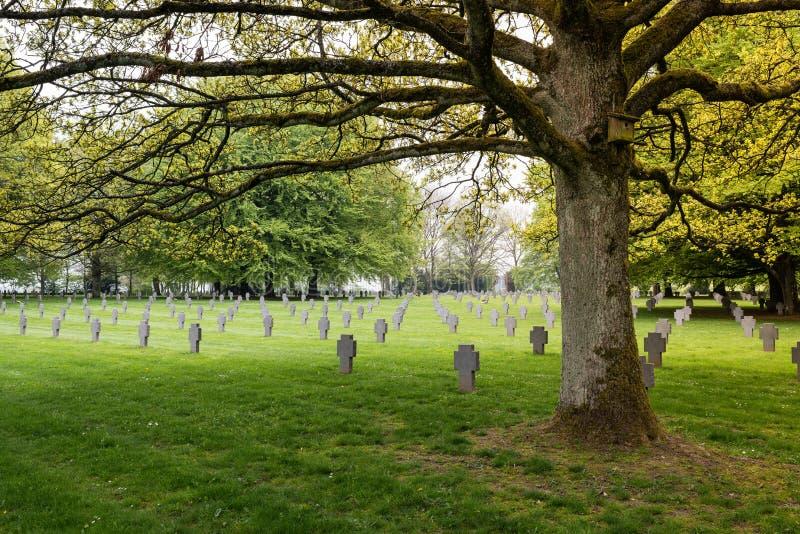 Download German war cemetery stock image. Image of focus, field - 40912941
