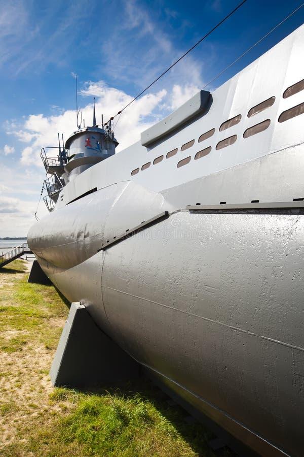 German world war 2 submarine type VIIC/41 stock image