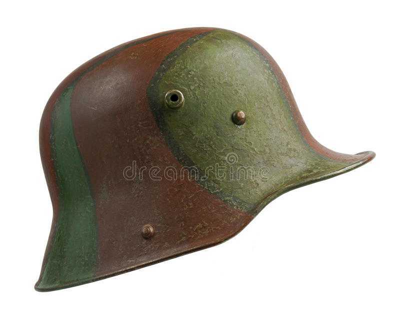 German World War One Helmet Royalty Free Stock Images