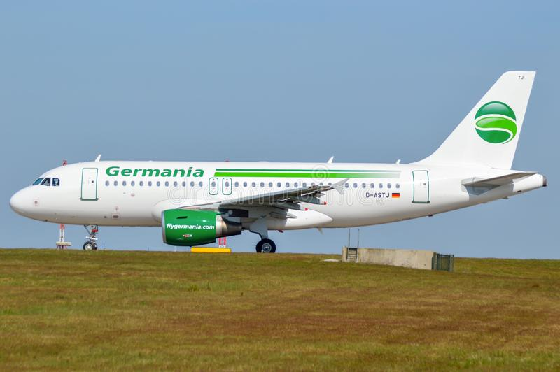 Germania A319 photographie stock