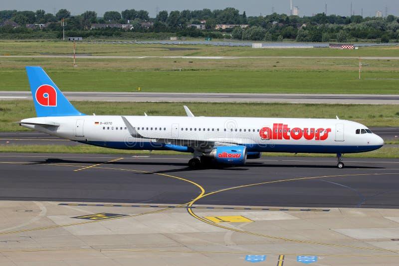 Germania Airbus A321-200 fotos de stock royalty free