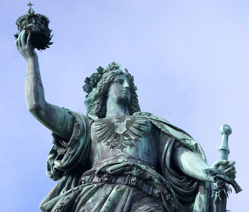 Germania-Skulptur lizenzfreie stockfotos
