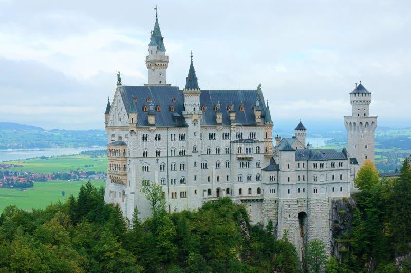 Germanic slott royaltyfria foton