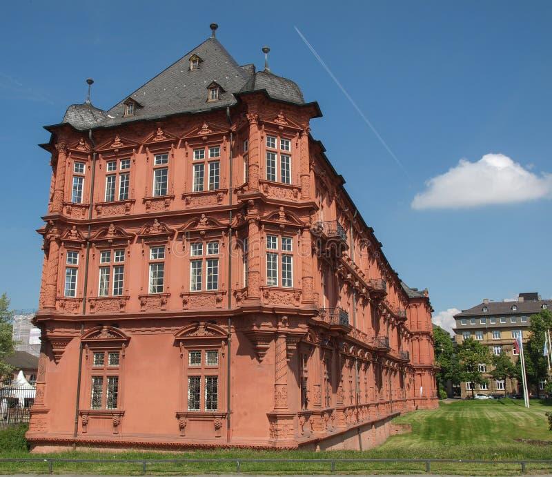 Germanisches Zentralmuseum Mainz católico fotografía de archivo